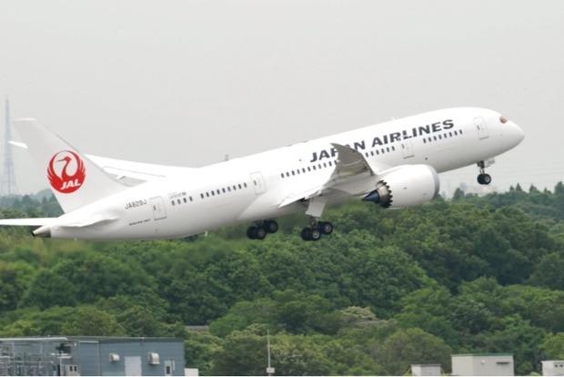 Самолет Japan Airlines совершил экстренную посадку из-за неисправности двигателя