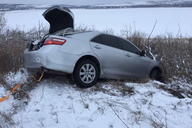 В Одесской области автомобиль с Надеждой Савченко попал в ДТП
