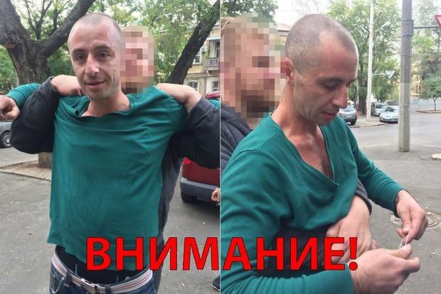 Одесситка смогла задержать грабителя, укравшего ее телефон
