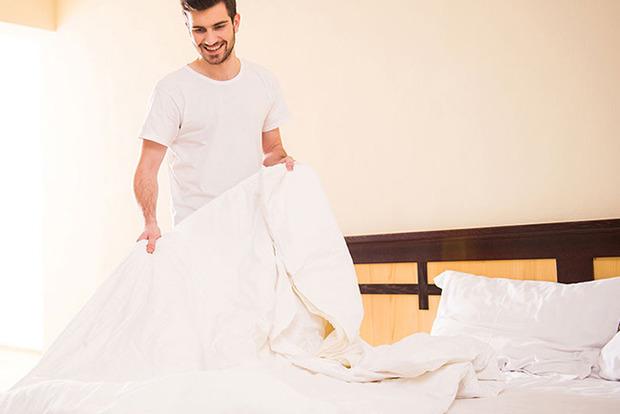 Привычка заправлять кровать сразу же после сна небезопасна для здоровья
