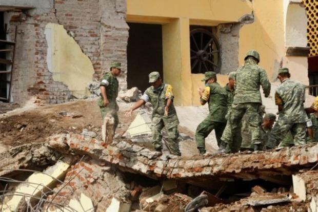 Мощное землетрясение в Мексике: число погибших достигло 95 человек