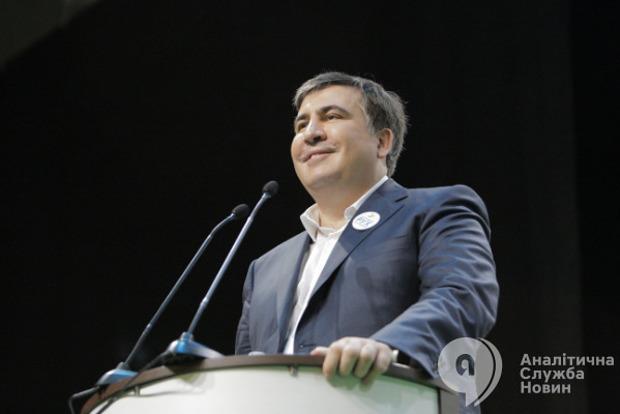Как на границе встречают Саакашвили: онлайн-трансляция
