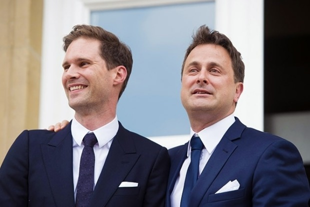 Первый муж Люксембурга позировал фотографам с женами мировых лидеров