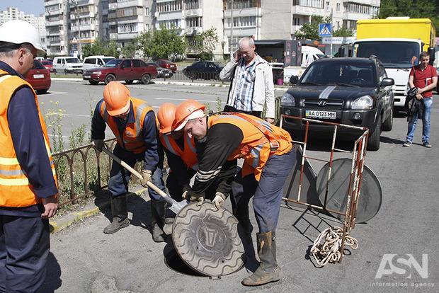 Как спецназ Киевводоканала оставил без воды офисный центр