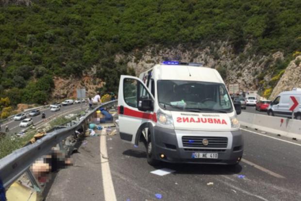 Кровавое ДТП в Турции: 20 человек погибли