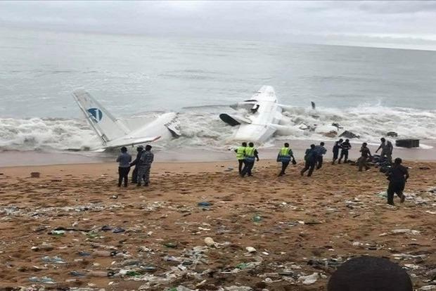 Авиакатастрофа в Кот-д'Ивуаре: на борту Ан-26 было 10 человек