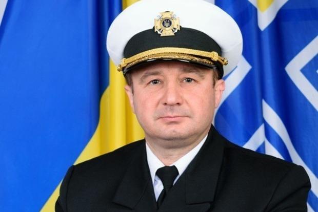 Начштаба ВМС Украины лишился должности из-за жены-россиянки