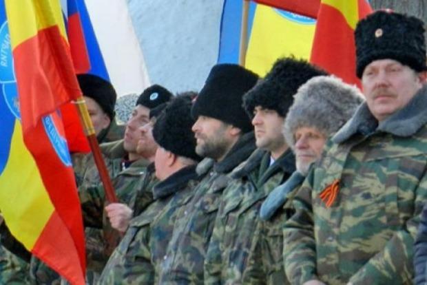 В Луганской области казак на «мерседесе» пытался прорваться через блокпост
