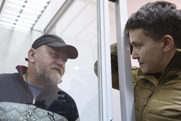 Стало відомо, де судитимуть Савченко та Рубана