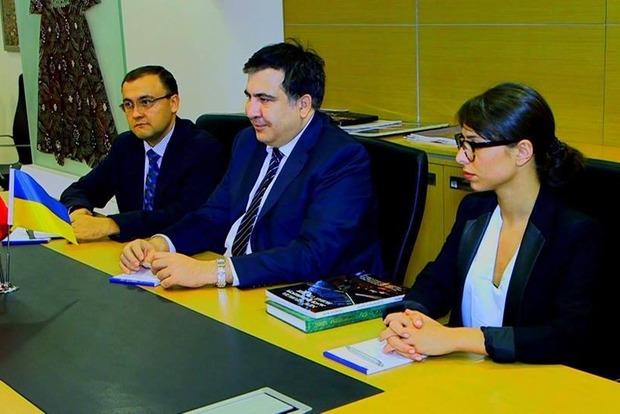 Саакашвили съездил в Стамбул и договорился о благоустройстве парка