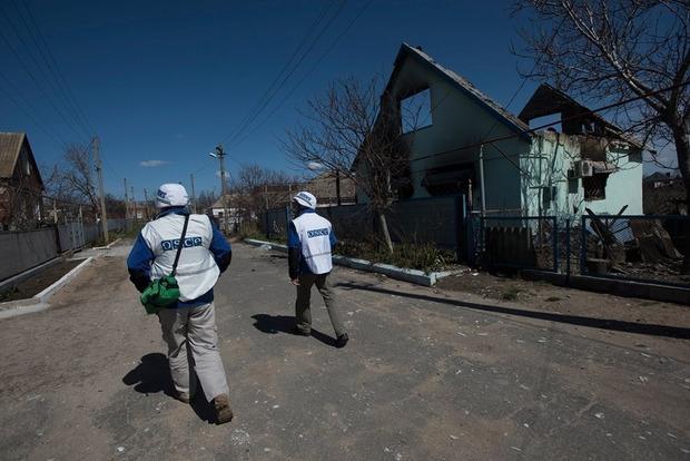 В ОБСЕ заявили о неприемлемо высоком числе обстрелов на Донбассе