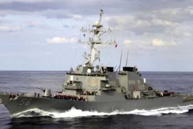 Россияне сообщают о нарушении границ американским эсминцем