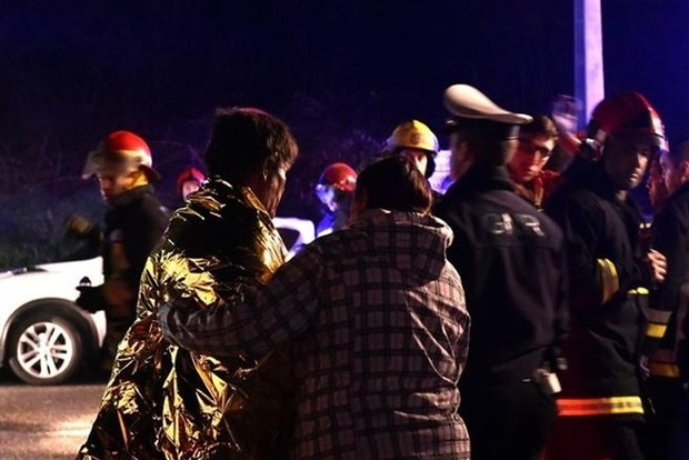 На карточном турнире в Португалии сгорели восемь человек