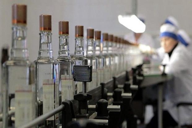 В Украине упало производство водки, коньяка и пива