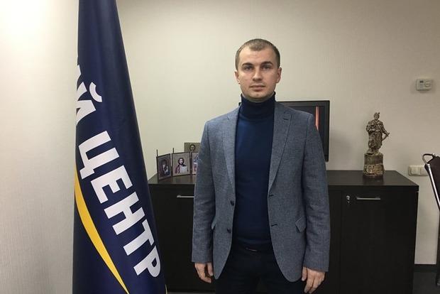 Главе партии «Единый центр» в Северодонецке принесли траурный венок