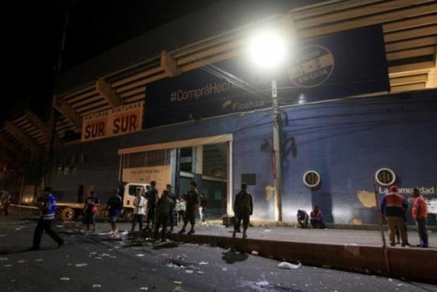 Давка перед футбольным матчем в Гондурасе: четверо погибших, десятки раненых