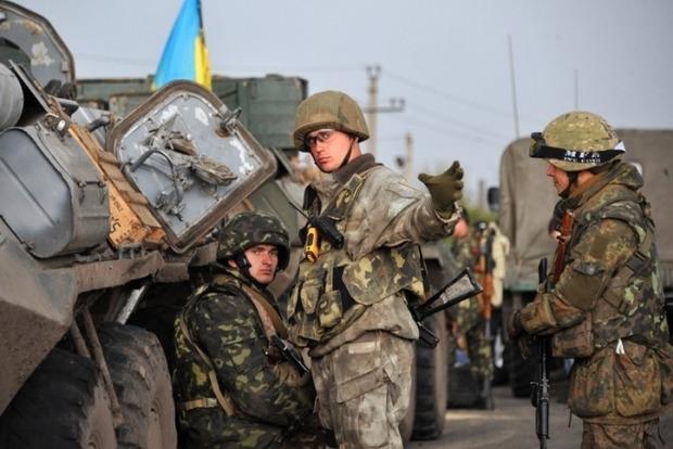 Около Станицы Луганской силы АТО были вынуждены трижды открывать огонь