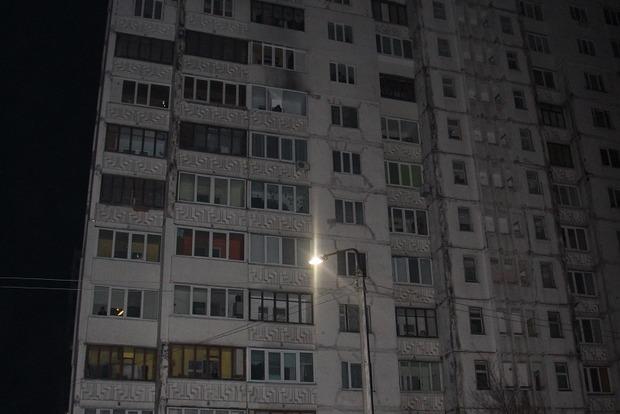 В Киеве во время тушения пожара погиб спасатель