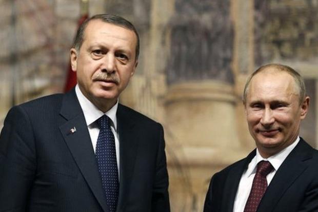 Путин извинился перед Эрдоганом за нарушение воздушного пространства