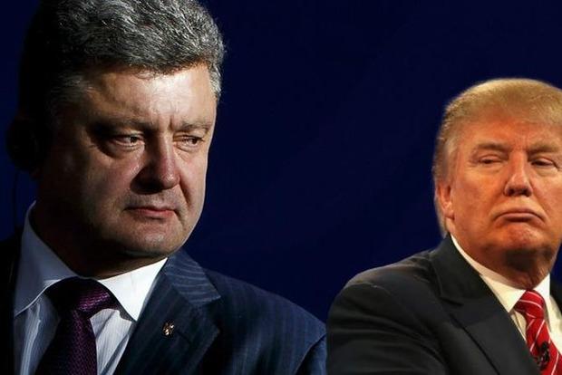 Стало известно, почему Порошенко и Трамп не встретелись