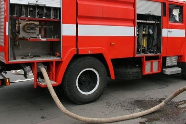 В центре Киева горела больница
