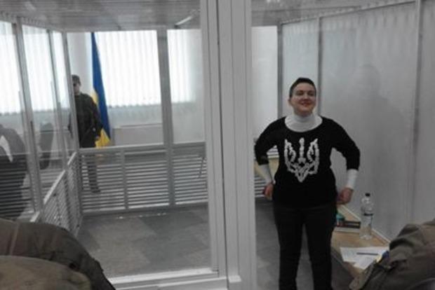 Савченко судят в день рождения ее матери