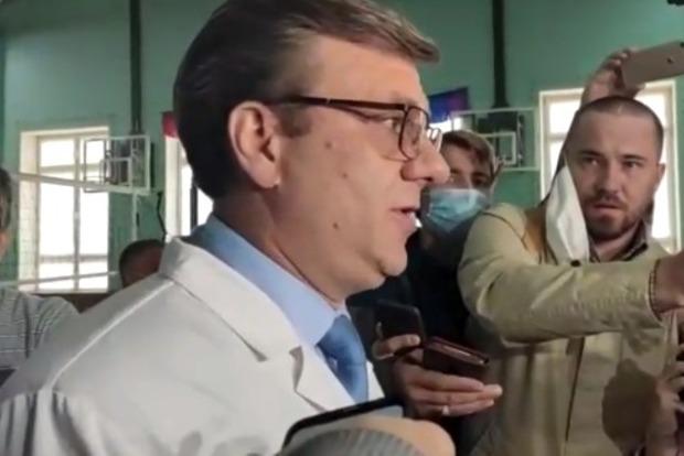 В омской больнице сообщили, что знают диагноз Навального, но говорить его не будут
