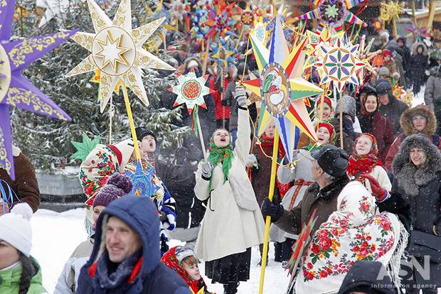 Рождество по юлианскому календарю впервые на официальном уровне отмечается в Украине