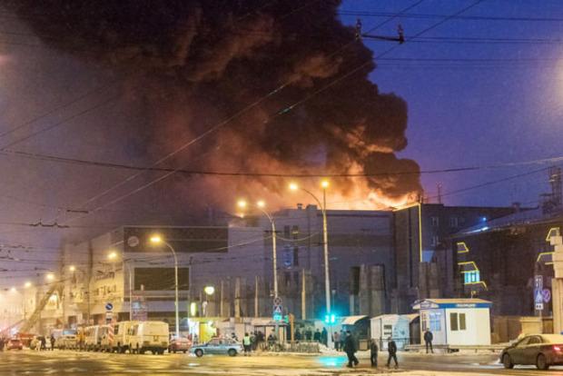 Задержан охранник, отключивший сигнализацию в ТЦ в Кемерово