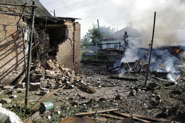 За минувшие сутки двое украинских военных погибли взоне АТО