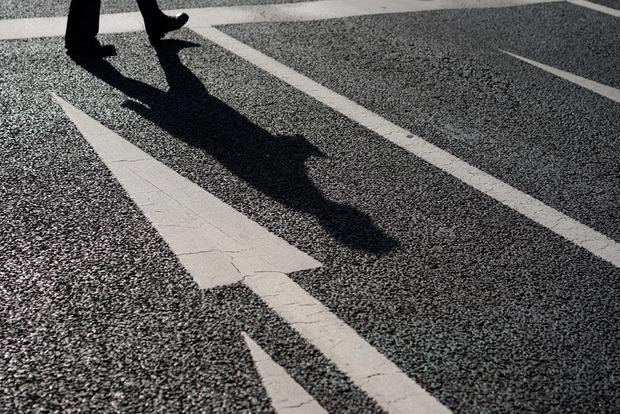 Во Львове водитель сбил девушку и скрылся с места ДТП, но забыл стереть видео со своего регистратора