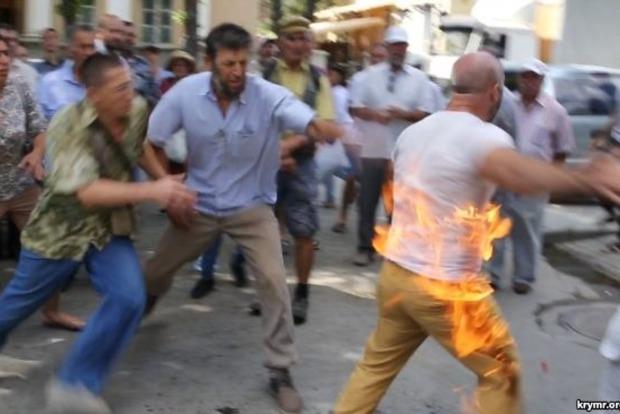 В оккупированном Крыму крымскотатарский активист совершил акт самосожжения
