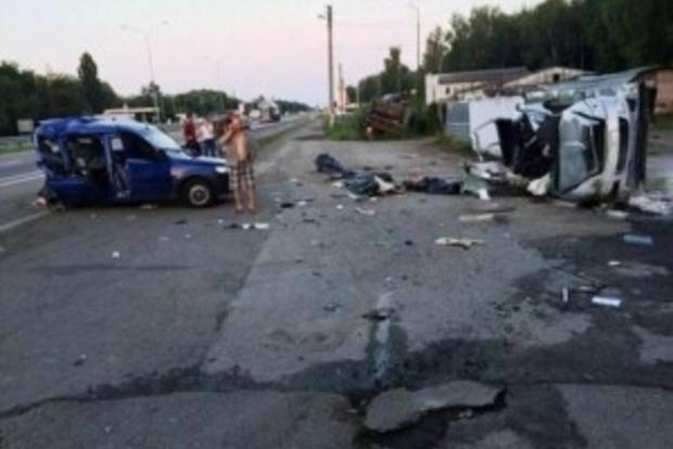В Киевской области в результате ДТП погибли три человека
