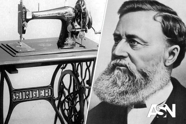 ЭТОТ ДЕНЬ. 12 августа 1851 года Зингер запатентовал усовершенствованную швейную машинку