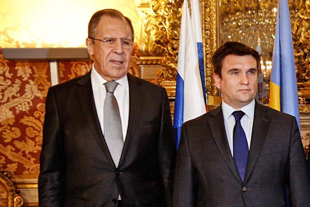 Клімкін поговорив із Лавровим про заручників і миротворців ООН