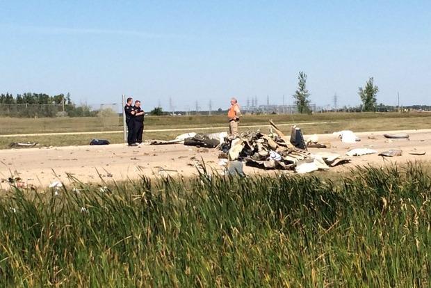В Канаде разбился частный самолет, есть жертва