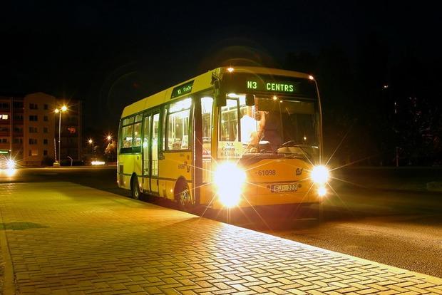 Ночные маршрутки в Киеве начинают курсировать с 30 декабря