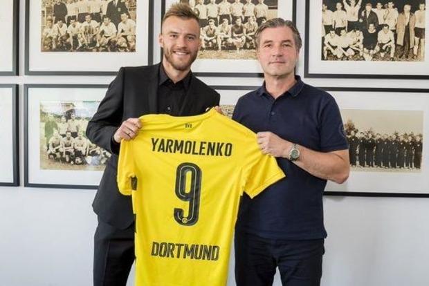 Ярмоленко пяткой забил дебютный гол в матче бундеслиги