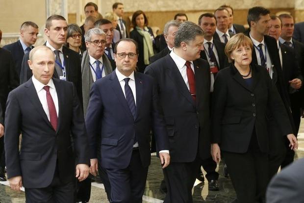 «Нормандська четвірка» продовжила дію Мінських угод на 2016 рік