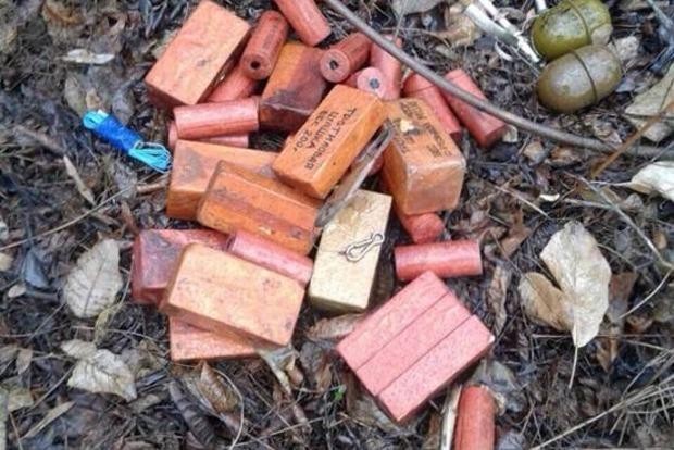 В Донецкой области найден тайник с пятью килограммами тротила