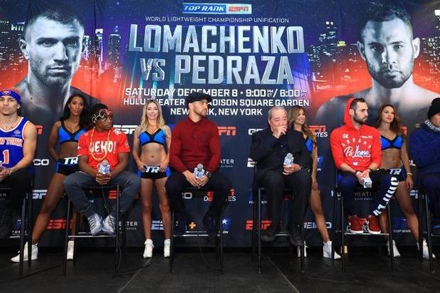 Ломаченко и Педраса сегодня сойдутся в объединительном бою