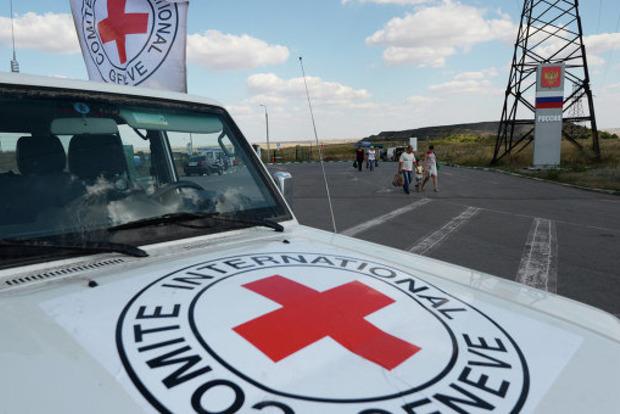 Боевики ДНР обстреляли сотрудников Красного креста