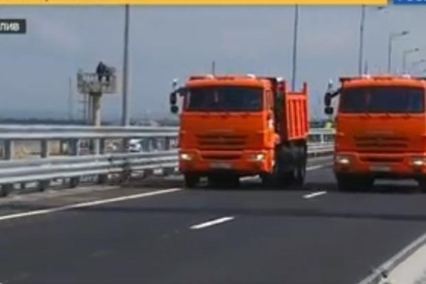 Путін за кермом КамАЗа відкрив Керченський міст