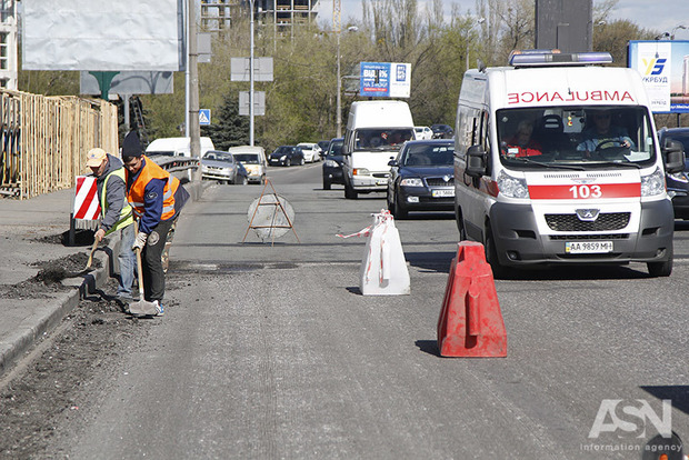 В Киеве перекроют развязку на пересечении просп. Леся Курбаса с ул. Гната Юры