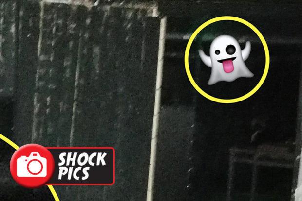 Парочка сфотографувала демонічну особу в старому підвалі