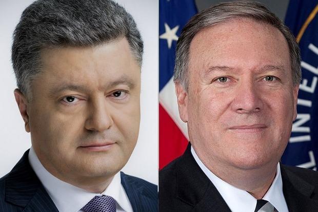 США пообещали Порошенко военную помощь