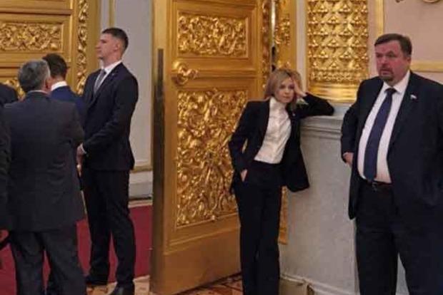 Фото Поклонської на інавгурації Путіна «підірвало» соцмережі