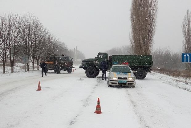 В Одесской области продлили запрет на движение авто из-за ухудшения погоды