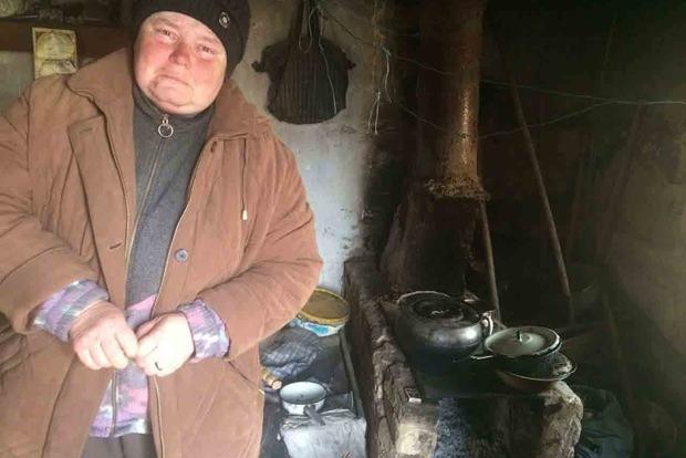 Лицемірне кривосуддя: засуджена за крадіжку соломи повернулася в розвалений будинок