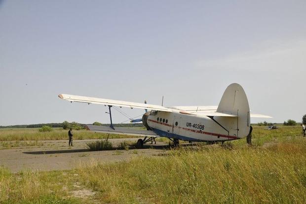 На Волыни найден еще один самолет контрабандистов (фото)